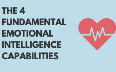 The 4 Key Emotional Intelligence Capabilities (INFOGRAPHIC)